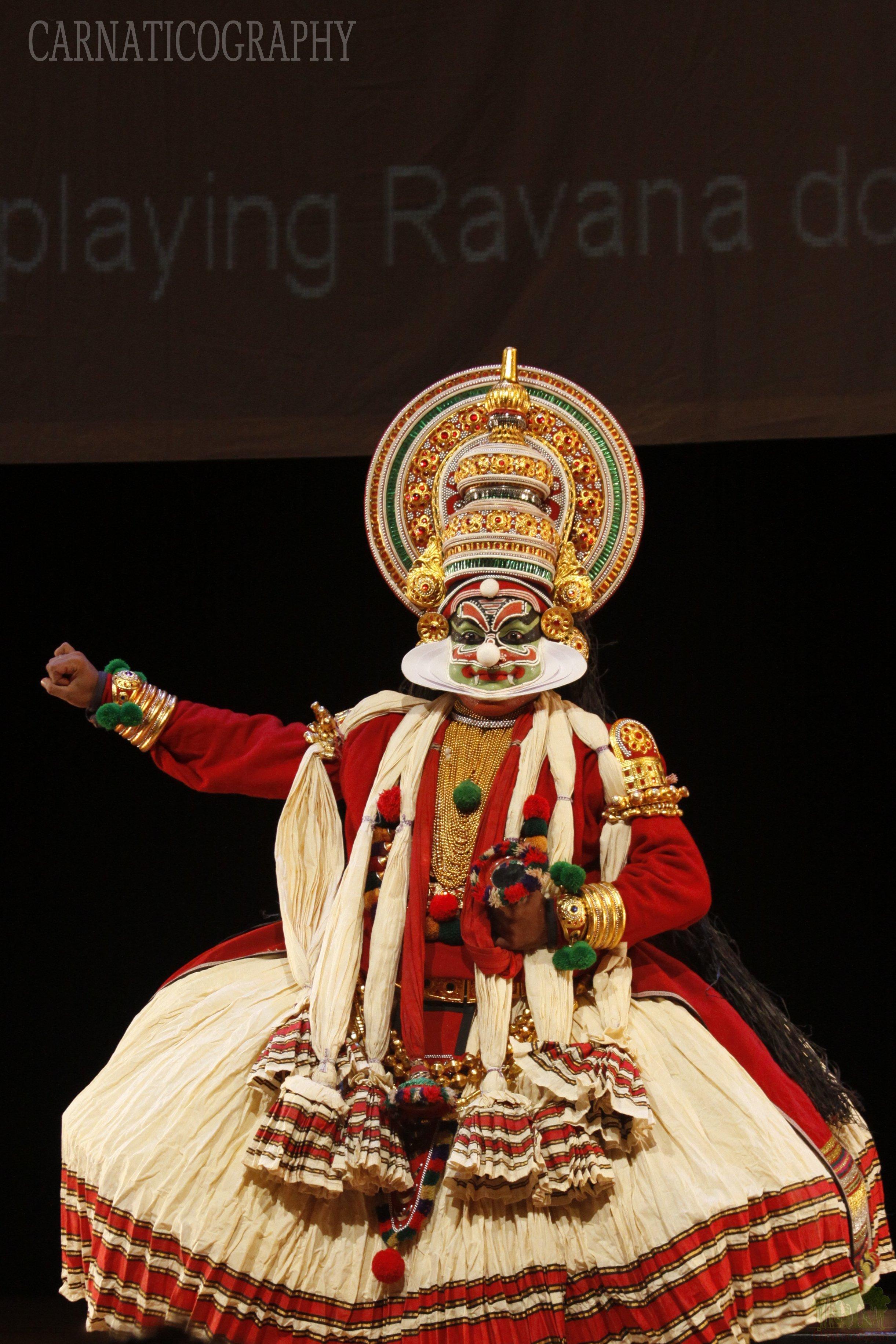 Shanmugam Das as Ravana - Oberlin 2010