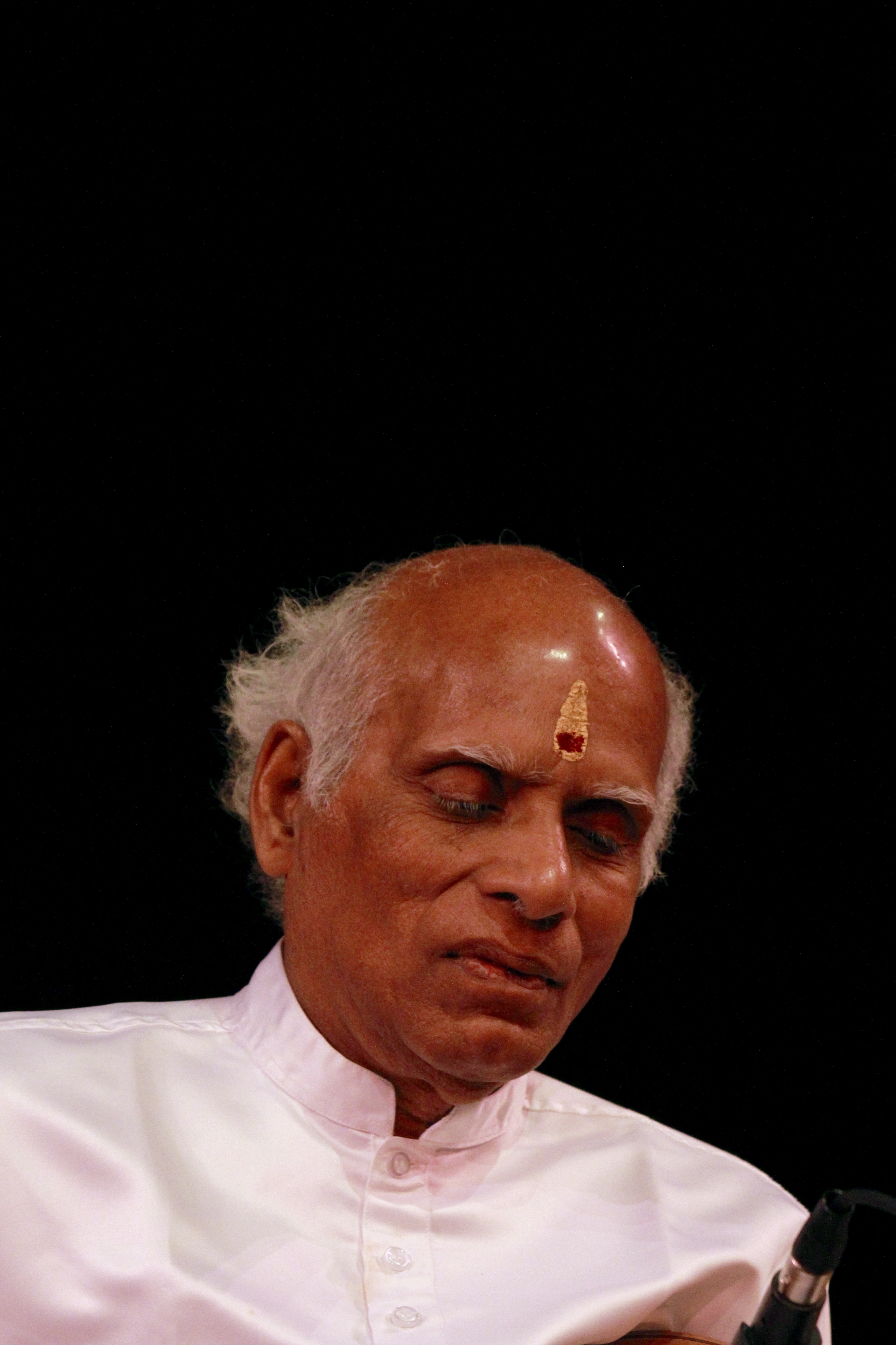 Violin Maestro Prof. V.V. Subramaniam