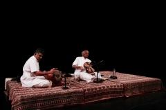 Violin Maestro Prof. V.V. Subramaniam with Trivandrum Balaji